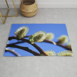 Willow Catkins Rug