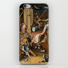Visions of Hell by Heironymus Bosch iPhone Skin