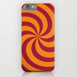Color Swirl I iPhone Case