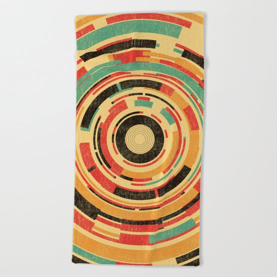 Space Odyssey Beach Towel