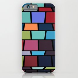 Cube Pattern iPhone Case