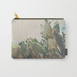 desert prickly pear cactus ... Carry-All Pouch