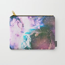 Space Earth Watercolor Carry-All Pouch