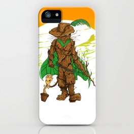 Puss n Groot 2 iPhone Case