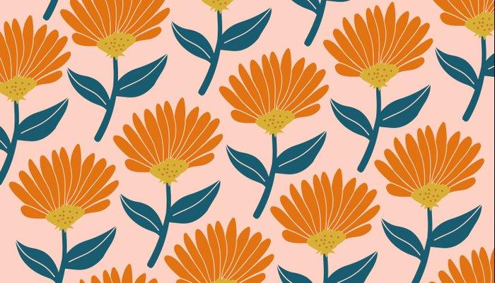 Floral_pattern Pillow Sham
