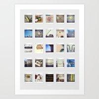 Minimalist Instagram Art Print