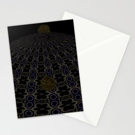 Unfitting Frame Orbitals 13 Stationery Cards