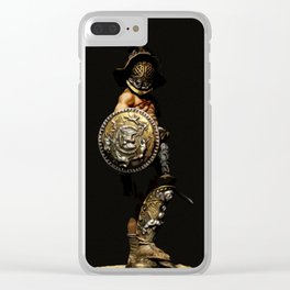 The Gladiator Clear iPhone Case