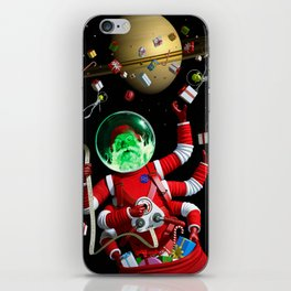 In space no one can hear you jingle iPhone Skin