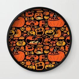 Halloween pattern Wall Clock