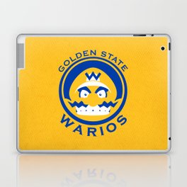 Golden State Warios - Mushroom Kingdom Champs Laptop & iPad Skin