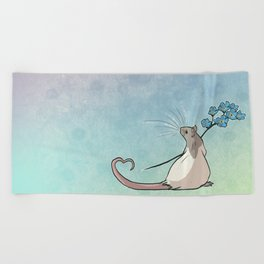Forget Me Not Beach Towel