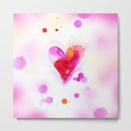 Sweet Heart 6 by Kathy Morton Stanion Metal Print