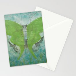 Luna Moth Pelvis Two Stationery Cards