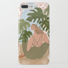 Bringing the outside in iPhone Case