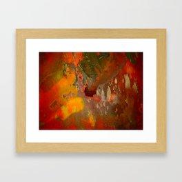 Splashes in Harmony Framed Art Print