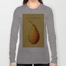 Ceci n'est pas une pomme  Long Sleeve T-shirt