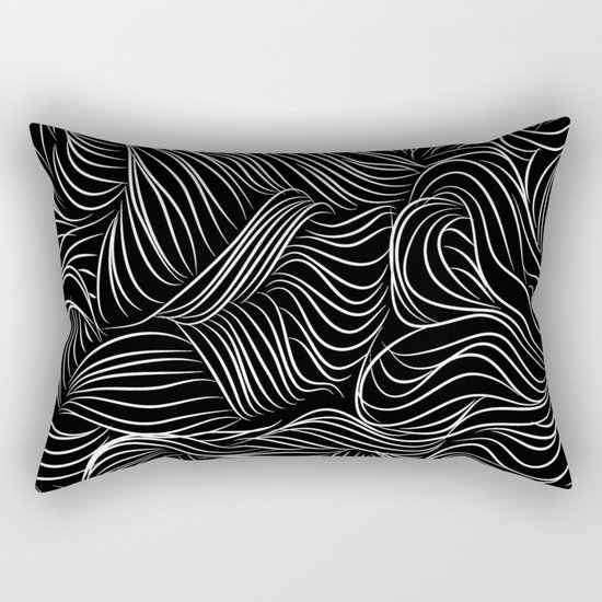 Lines view Rectangular Pillow