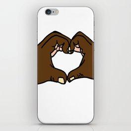 Heart Hands iPhone Skin