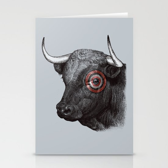 Bullseye Stationery Cards