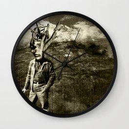 Tale of a TREE MAN  Wall Clock