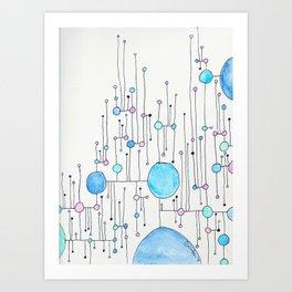 Lollipop Land 8 Art Print