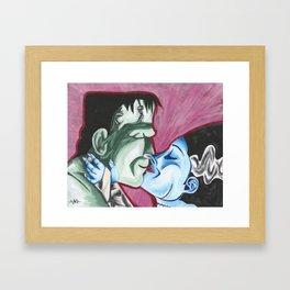 A Monster's Dream Framed Art Print
