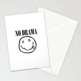 No Drama. Stationery Cards