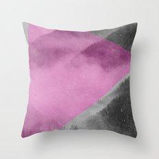NEON NATURE | Pink Throw Pillow
