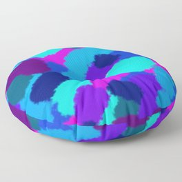Cold colours fantasy Floor Pillow