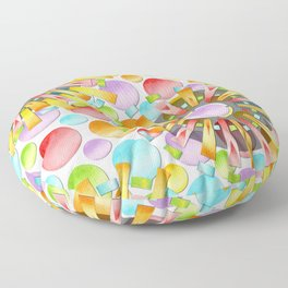 Birthday Party Polka Dots Floor Pillow