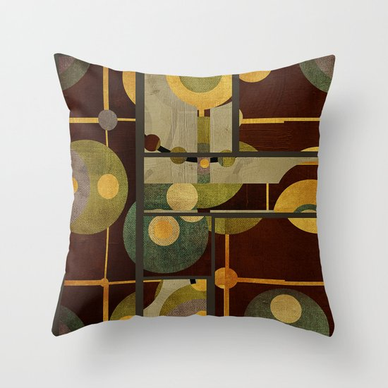 Textures/Abstract 99 Throw Pillow