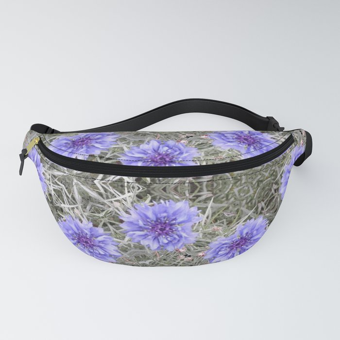 Love in the Mist - Floral Photography by Fluid Nature Fanny Pack