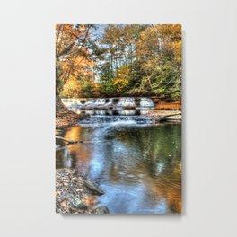 Fall at Quarry Rock Falls #2 Metal Print