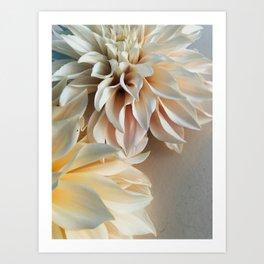Find Your Tribe #3 - Modern Dahlia Botanical Photograph Art Print