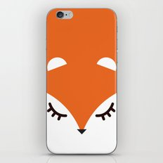 Fox minimal iPhone Skin