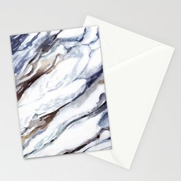 Marble print 1 Stationery Cards
