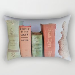 Wuthering Heights and Jane Eyre Rectangular Pillow