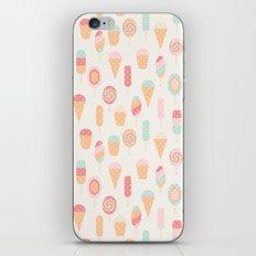 Retro ice cream iPhone & iPod Skin