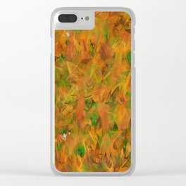 Autumnal Tints #1 Tapestry Astronomy Print Science Art Wall Art Clear iPhone Case