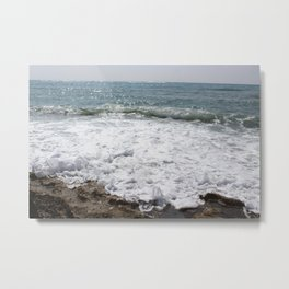 Bubbles in the Ocean Metal Print