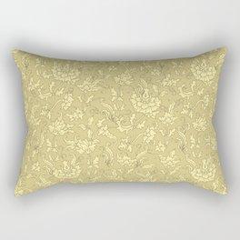 Golden Chrysanthemums Rectangular Pillow