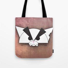 Crabby Cat - white Tote Bag