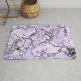 Lavender Marble Rug