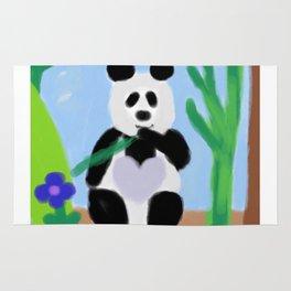 It's a Panda's World of Love 3 Rug