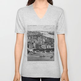 Vintage New York 1903 Unisex V-Neck