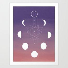Phased Art Print