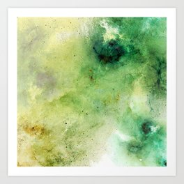 Abstract Galaxies Art Print