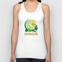 farm Tank Tops featuring Farm by Design4u Studio