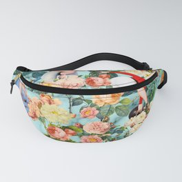Floral and Pin Up Girls II Pattern Fanny Pack